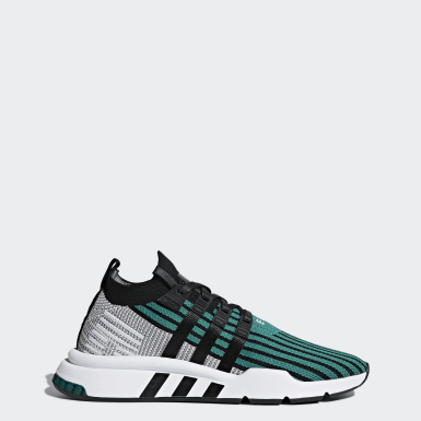 finest selection 36107 6bc78 Green - EQT - Trainers | adidas UK