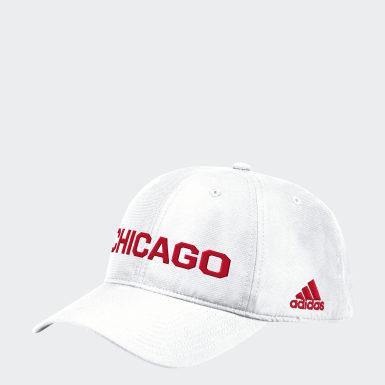 Men's Training Multicolor Blackhawks Coach Slouch Adjustable Hat