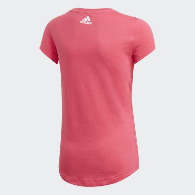 Camiseta Estampada Rosa Niña Training