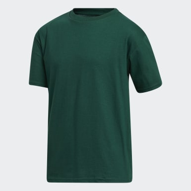 Youth Training Green Amplifier Tee