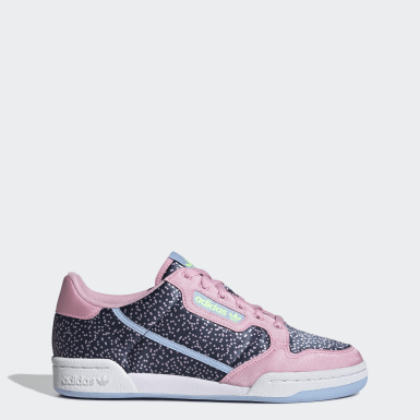 Women's Originals Pink Continental 80 Shoes
