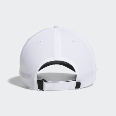 Men Golf White Crestable Performance Hat