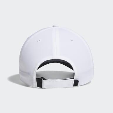 Gorra Crestable Performance Blanco Golf