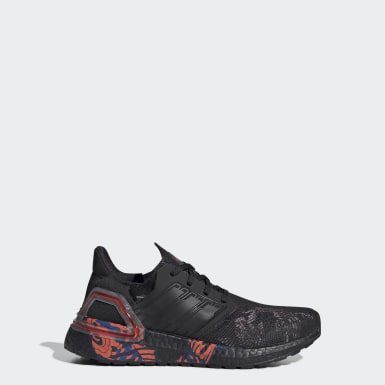 Kids Running Black Ultraboost 20 CNY Shoes