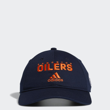 Men Hockey Not Defined Oilers Badge of Sport Cotton Slouch Cap