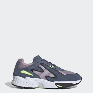 Originals Blå Yung-96 Chasm sko