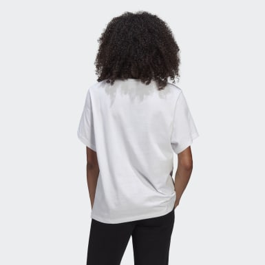 Camiseta Essentials Blanco Mujer Originals