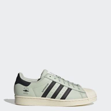 Chaussure Superstar vert Originals