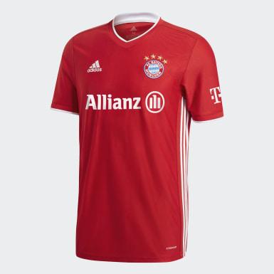 Camiseta primera equipación FC Bayern 20/21 Rojo Mujer Fútbol