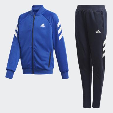 Børn Træning Blå XFG træningsdragt