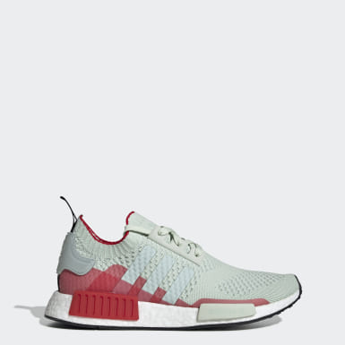 Originals Green NMD_R1 Primeknit Shoes