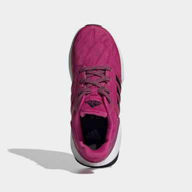 Children Running Pink RapidaRun X Shoes