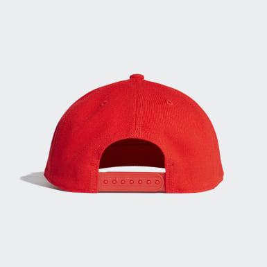 красный Кепка H90 Logo