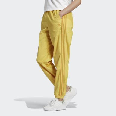 Pantalon Cuffed Jaune Femmes Originals