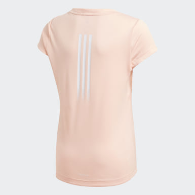 Mädchen Training AEROREADY T-Shirt Rosa