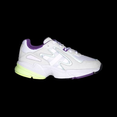 Youth 8-16 Years Originals White Yung-96 Chasm Shoes