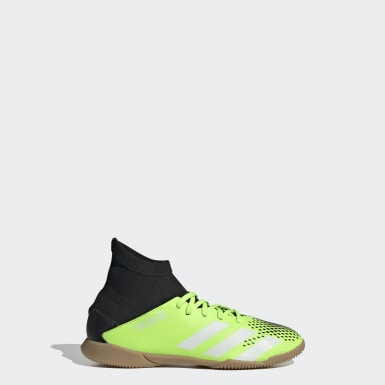Children Soccer Green Predator Mutator 20.3 Indoor Shoes