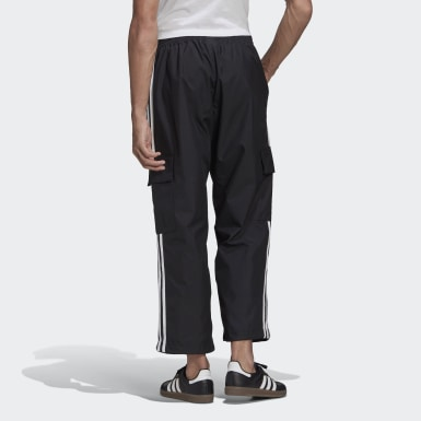 Men's Originals Black Adicolor Classics 3-Stripes Cargo Pants