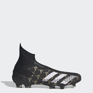 Fodbold Sort Predator Mutator 20+ Paul Pogba Firm Ground støvler