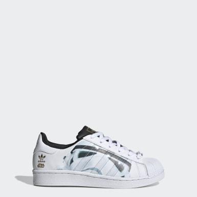 Kids Originals White Superstar Star Wars Stormtrooper Shoes