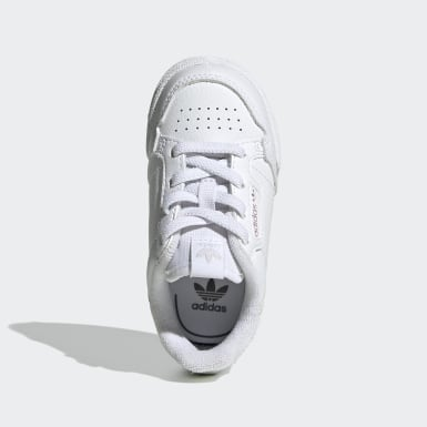 Infants Originals White Continental 80 Shoes