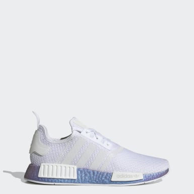 Men Originals Silver NMD_R1 Shoes