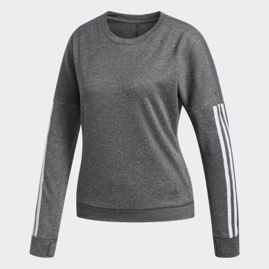 Women Field Hockey Grey Response Long Sleeve Sweatshirt