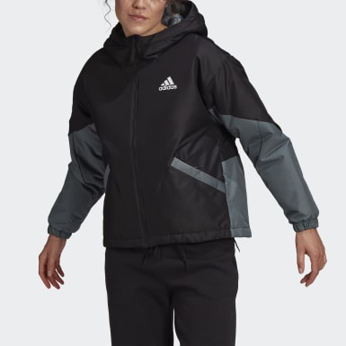 Women City Outdoor Black Back to Sport Insulated Jacket