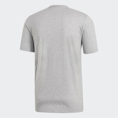 Erkek Training Gri Essentials Plain Tişört