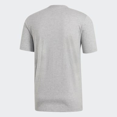 серый Футболка Essentials Plain