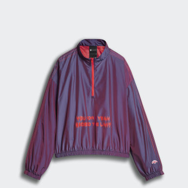 adidas Originals by AW Two-Tone Windbreaker