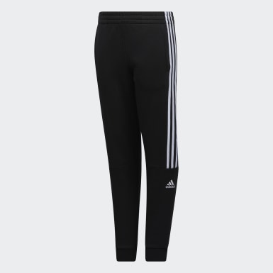 Youth Training Black Core Badge Joggers