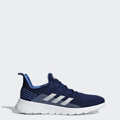 Running Blue Asweego Shoes