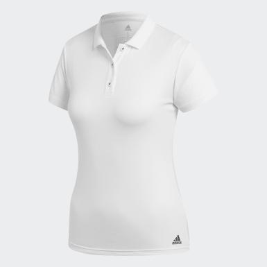 Women Tennis White Club Polo Shirt