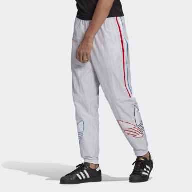 Men Originals Grey Adicolor Track Pants