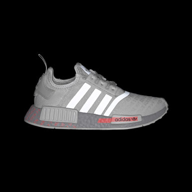 Youth Originals Grey NMD_R1 Shoes