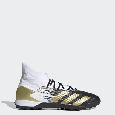 ผู้ชาย ฟุตบอล สีขาว รองเท้าฟุตบอล Predator Mutator 20.3 Turf