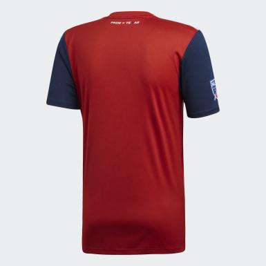 Männer Fußball FC Dallas Heimtrikot Rot