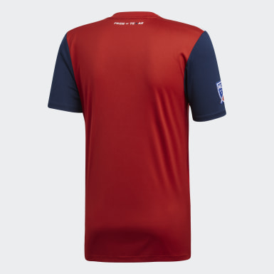 Men Football Red FC Dallas Home Jersey