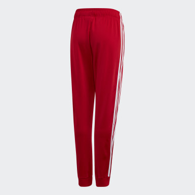 Youth 8-16 Years Originals Red SST Tracksuit Bottoms