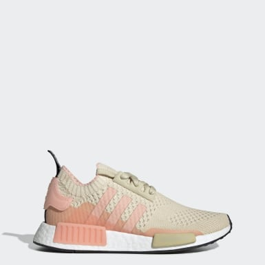 Women Originals Brown NMD_R1 Primeknit Shoes