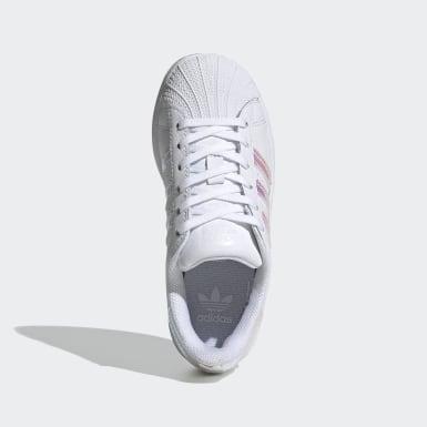 Kids 4-8 Years Originals White Superstar Shoes