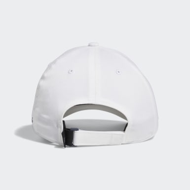 Men Golf White Laser Logo Cap