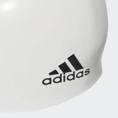 Yüzme White silicone logo bone