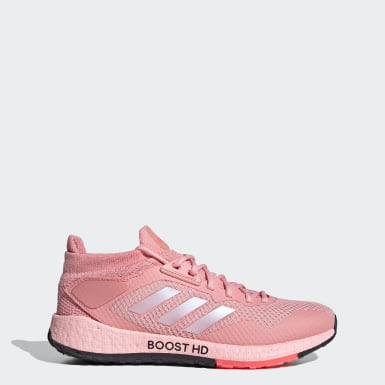 Tênis Pulseboost HD Rosa Mulher Running
