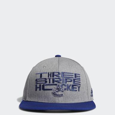 Casquette Maple Leafs Three Stripe Hockey Snapback multicolore Hommes Entraînement