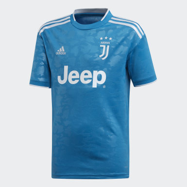 Youth 8-16 Years Football Blue Juventus Third Jersey