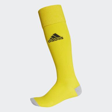Meias Milano 16 – 1 par Amarelo Homem Futebol