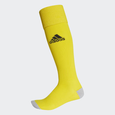 Men Football Yellow Milano 16 Socks 1 Pair