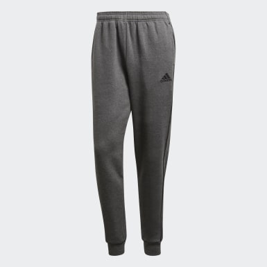 Men Training Grey Core 18 Sweat Tracksuit Bottoms